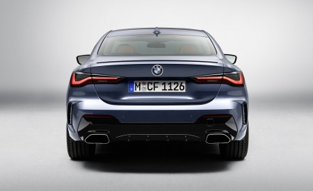 2021 BMW M440i xDrive Coupe Rear Wallpapers 450x275 (73)
