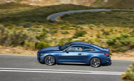 2021 BMW M440i xDrive Coupe Side Wallpapers 450x275 (22)