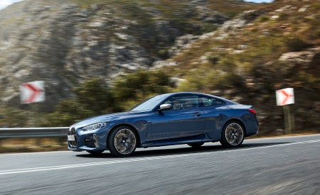 2021 BMW M440i xDrive Coupe Side Wallpapers 450x275 (35)