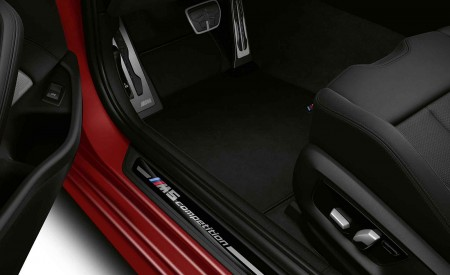2021 BMW M5 Competition Door Sill Wallpapers 450x275 (18)