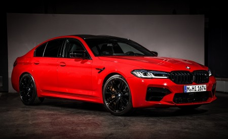 2021 BMW M5 Competition Front Three-Quarter Wallpapers 450x275 (21)