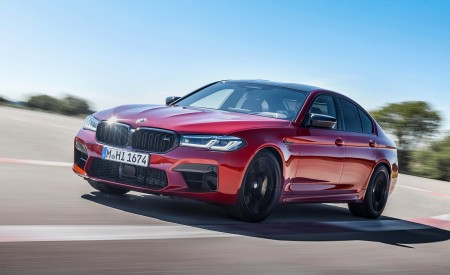 2021 BMW M5 Competition Front Three-Quarter Wallpapers 450x275 (2)