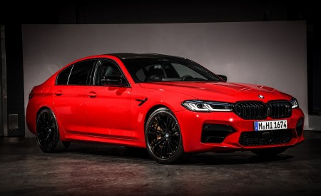 2021 BMW M5 Competition Front Three-Quarter Wallpapers 450x275 (28)