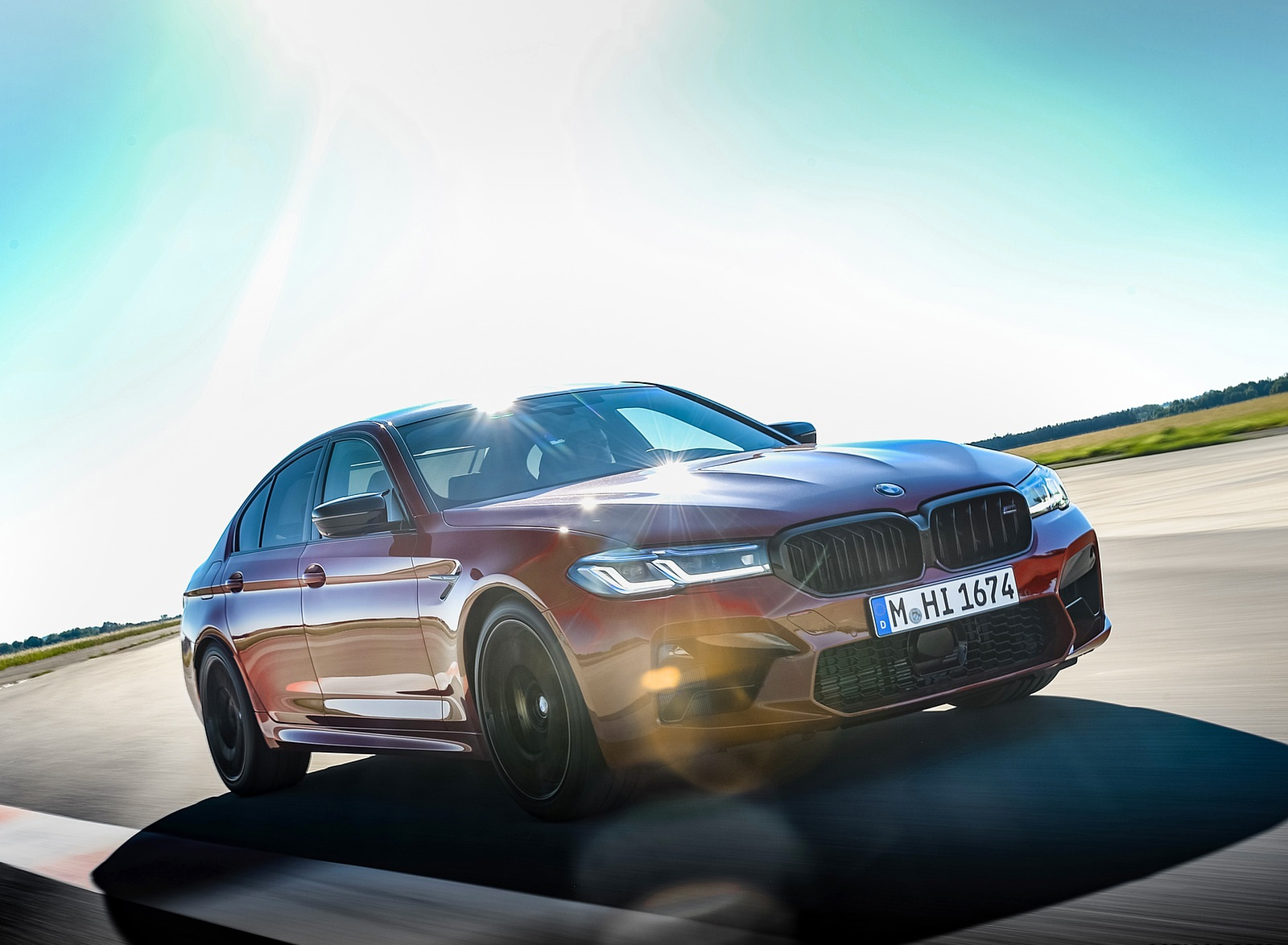 2021 BMW M5 Competition Front Three-Quarter Wallpapers (5)