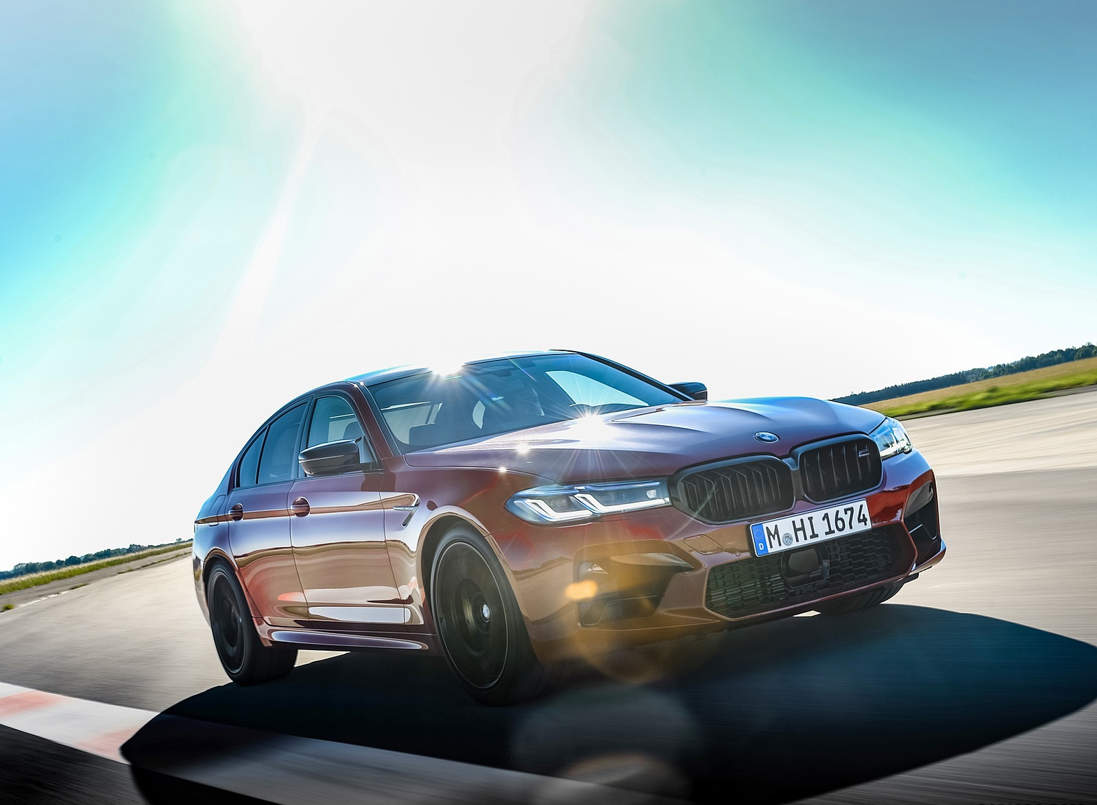 2021 BMW M5 Competition Front Three-Quarter Wallpapers (6)