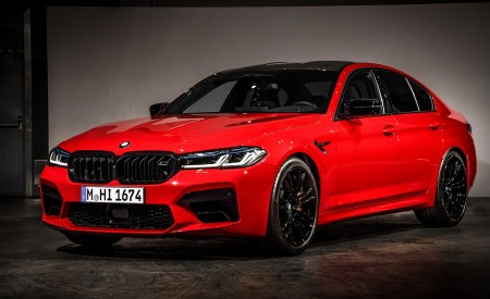 2021 BMW M5 Competition Front Three-Quarter Wallpapers 450x275 (26)