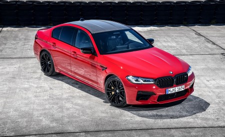 2021 BMW M5 Competition Front Three-Quarter Wallpapers 450x275 (12)