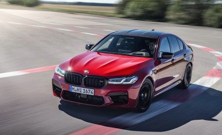 2021 BMW M5 Competition Front Three-Quarter Wallpapers 450x275 (7)