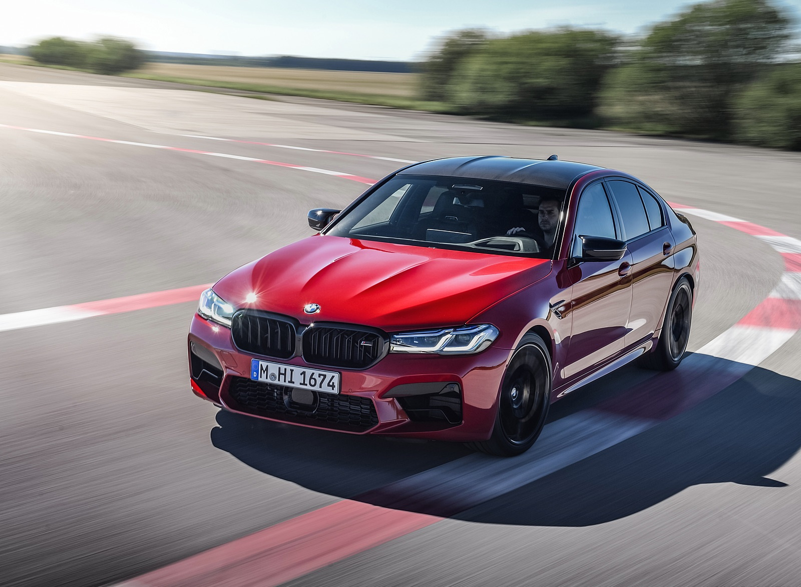 2021 Bmw M5 Competition Front Three Quarter Wallpapers 7 Newcarcars