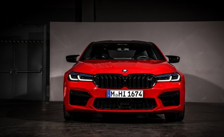 2021 BMW M5 Competition Front Wallpapers 450x275 (29)