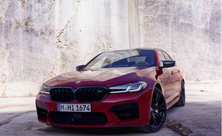 2021 BMW M5 Competition Front Wallpapers 450x275 (13)