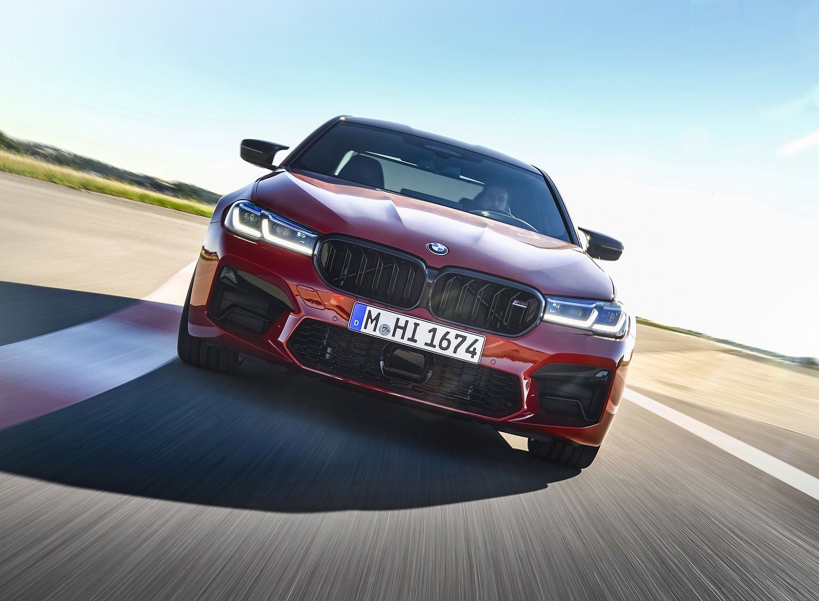 2021 BMW M5 Competition Front Wallpapers (8)