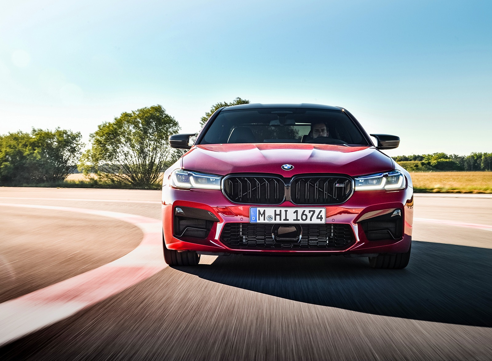 2021 BMW M5 Competition Front Wallpapers (9)