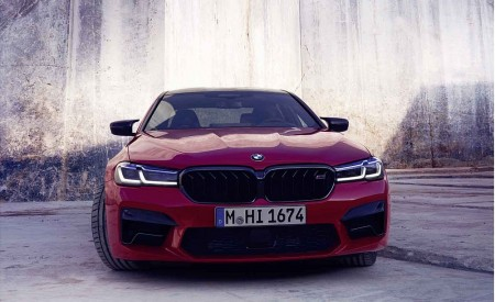 2021 BMW M5 Competition Front Wallpapers 450x275 (14)