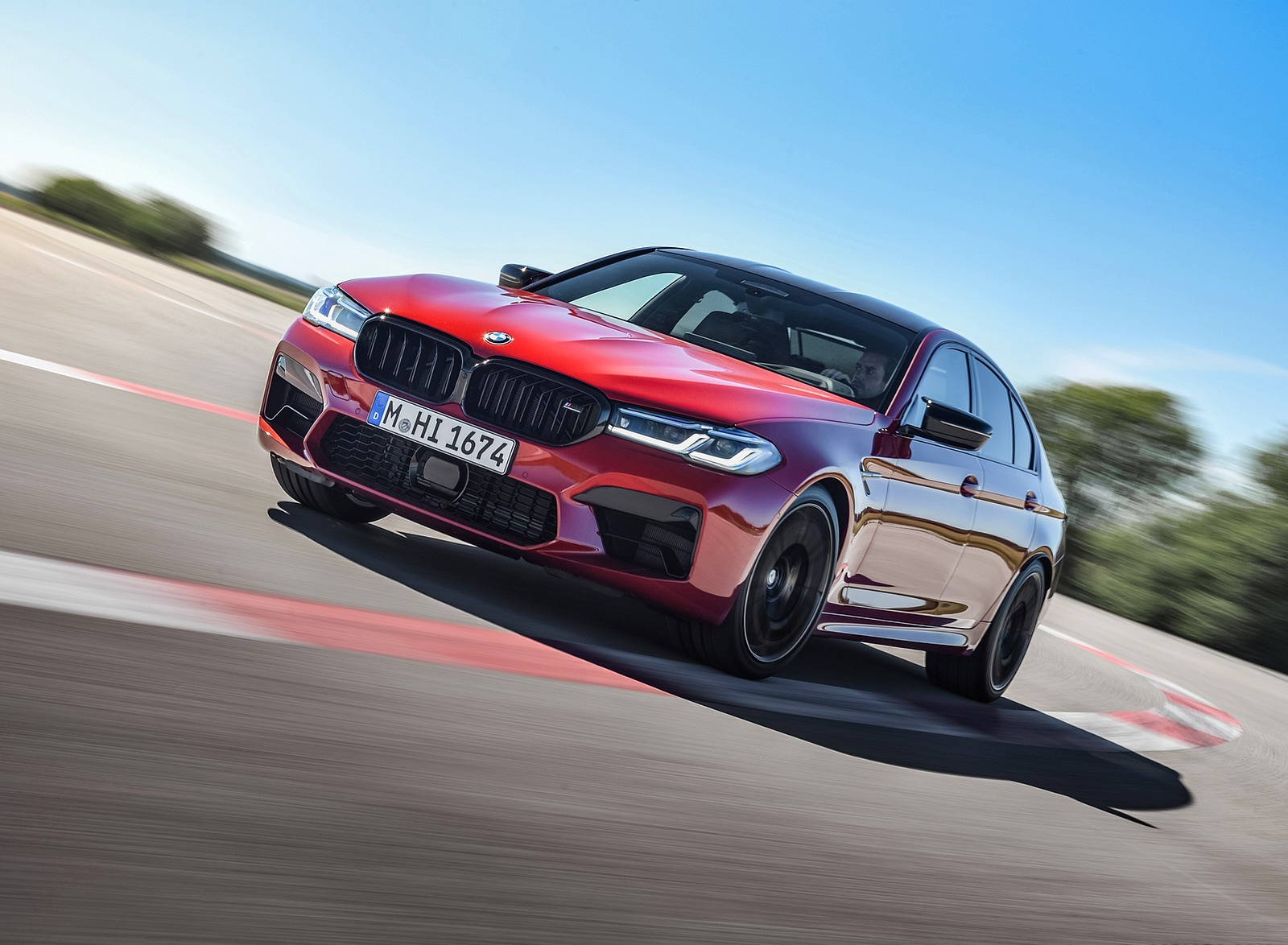 2021 BMW M5 Competition Front Wallpapers (10)