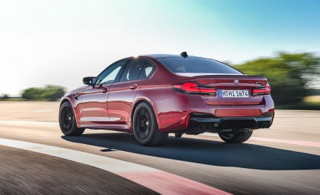 2021 BMW M5 Competition Rear Three-Quarter Wallpapers 450x275 (11)