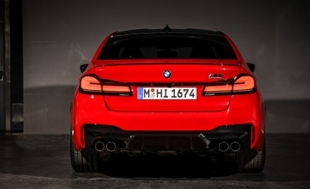 2021 BMW M5 Competition Rear Wallpapers 450x275 (34)