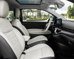 2021 Fiat 500 la Prima EV Interior Seats Wallpapers 150x120 (28)