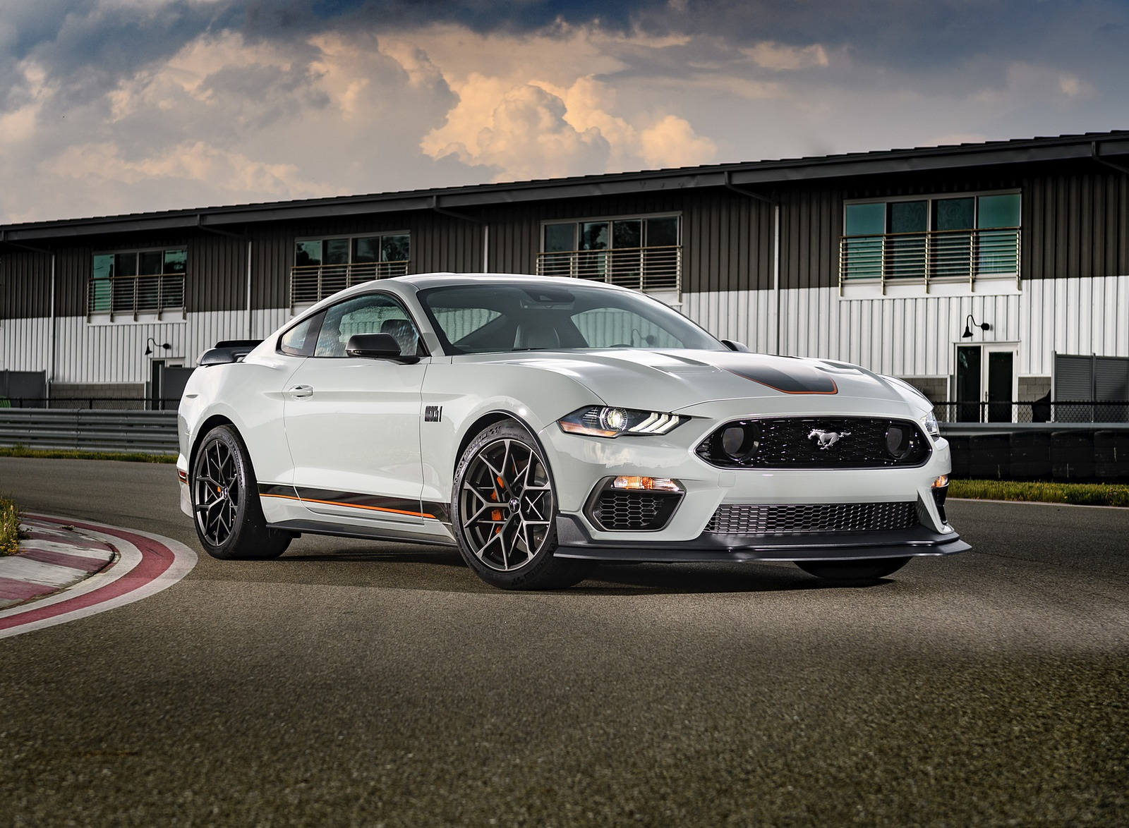 2021 Ford Mustang Mach 1 Front Three-Quarter Wallpapers (10)