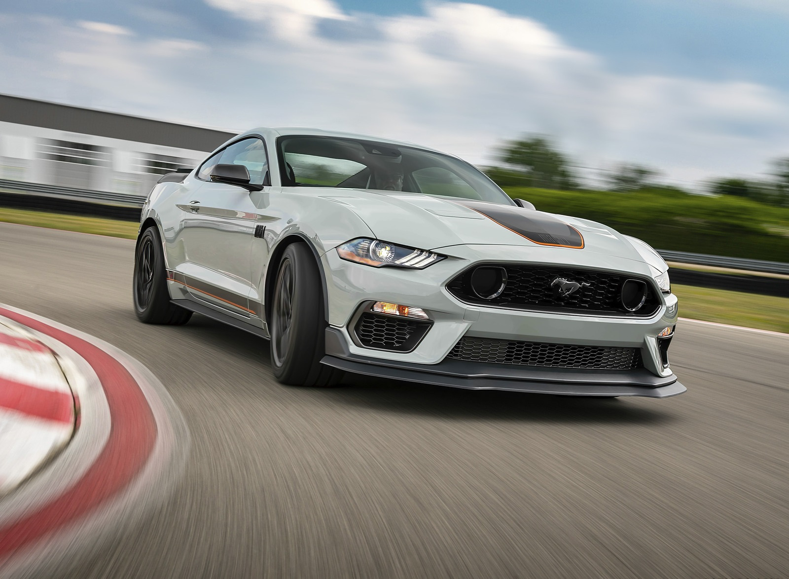 2021 Ford Mustang Mach 1 Front Three-Quarter Wallpapers (3)