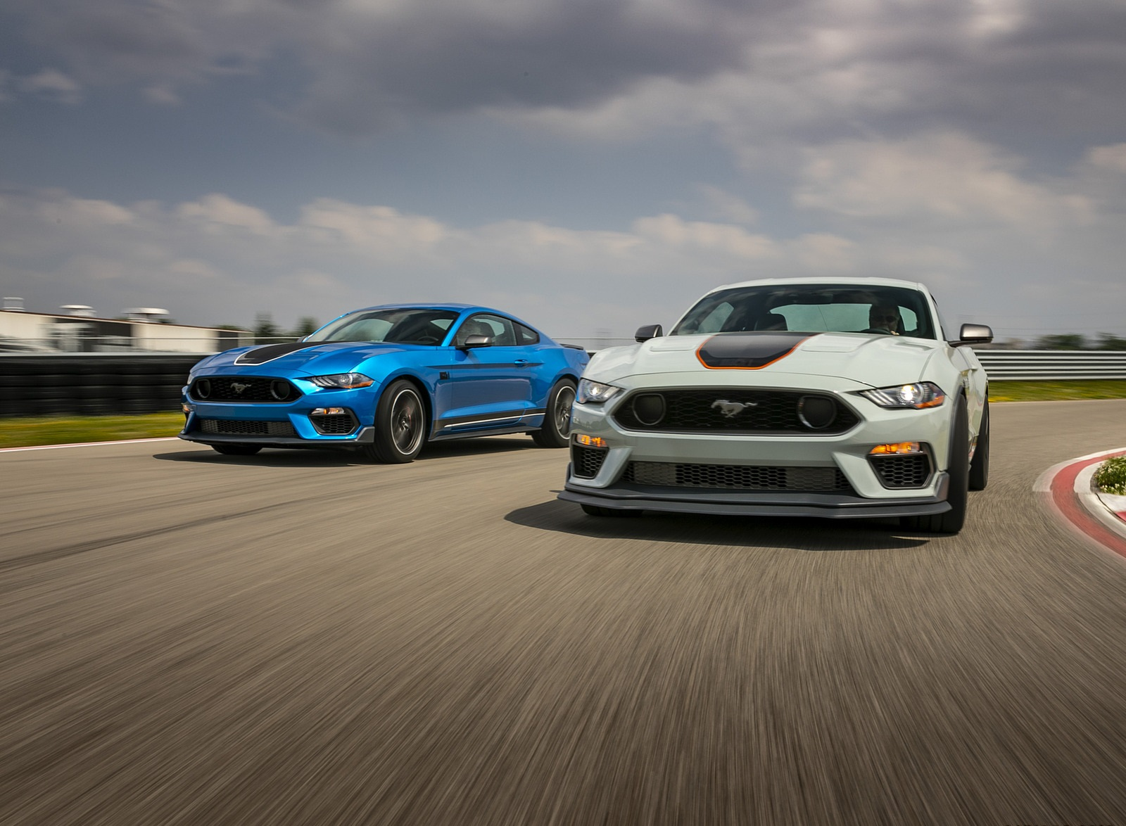 2021 Ford Mustang Mach 1 Front Wallpapers (1)