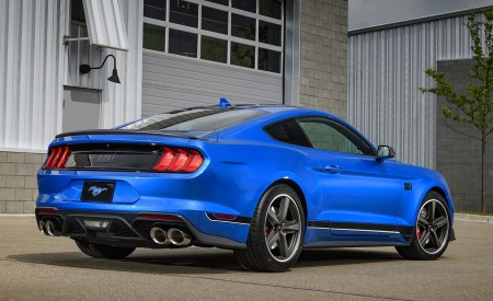 2021 Ford Mustang Mach 1 Rear Three-Quarter Wallpapers 450x275 (16)