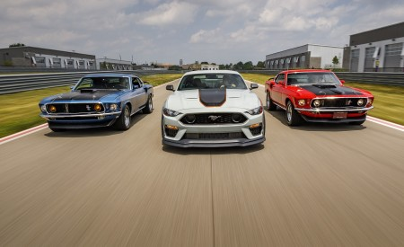 2021 Ford Mustang Mach 1 and 1969 Mach 1 Wallpapers 450x275 (8)