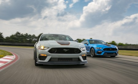 2021 Ford Mustang Mach 1 and 1969 Mach 1 Wallpapers 450x275 (4)