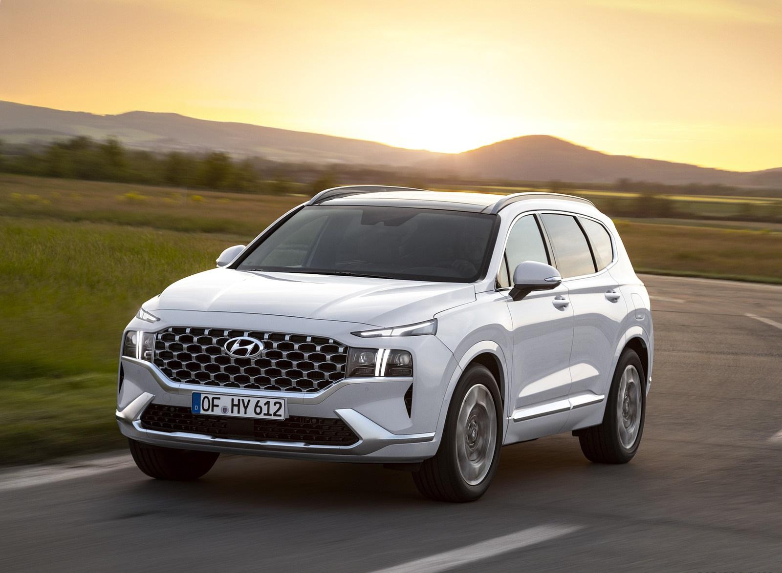2021 Hyundai Santa Fe Front Three-Quarter Wallpapers (1)