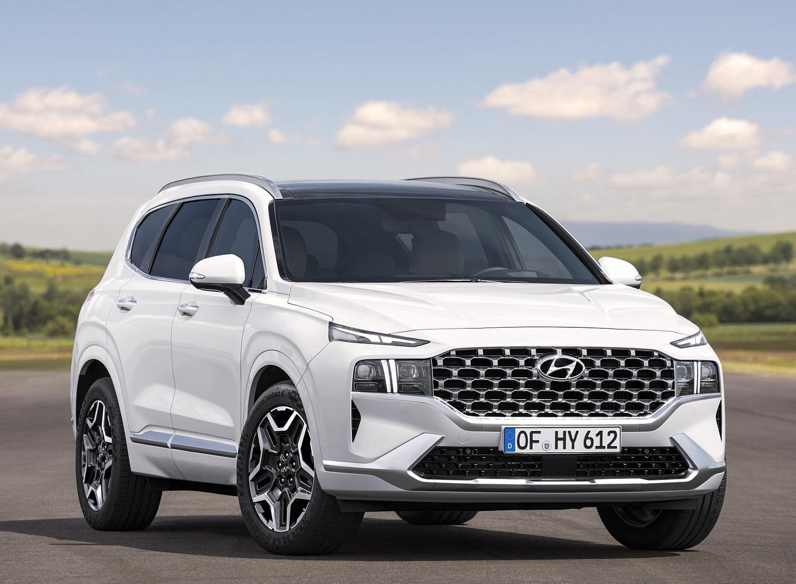 2021 Hyundai Santa Fe Front Three-Quarter Wallpapers (7)
