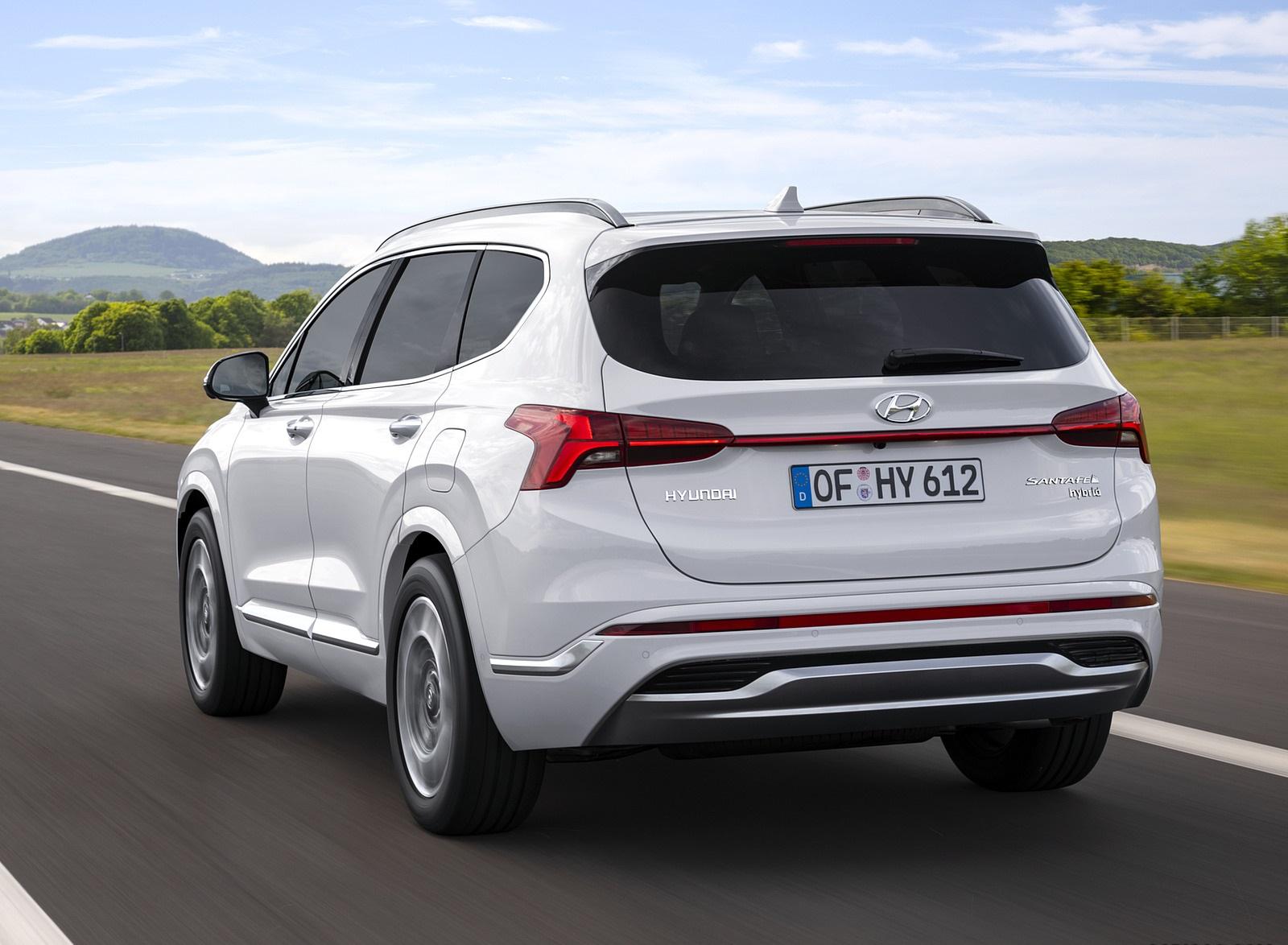 2021 Hyundai Santa Fe Rear Three-Quarter Wallpapers (5)