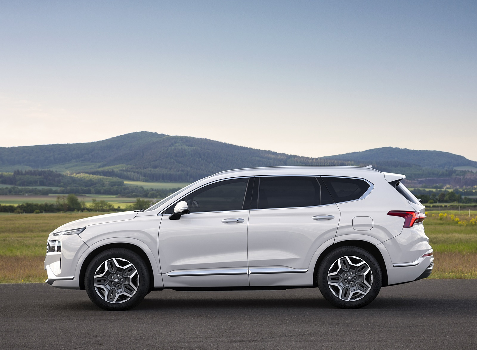 2021 Hyundai Santa Fe Side Wallpapers (10)