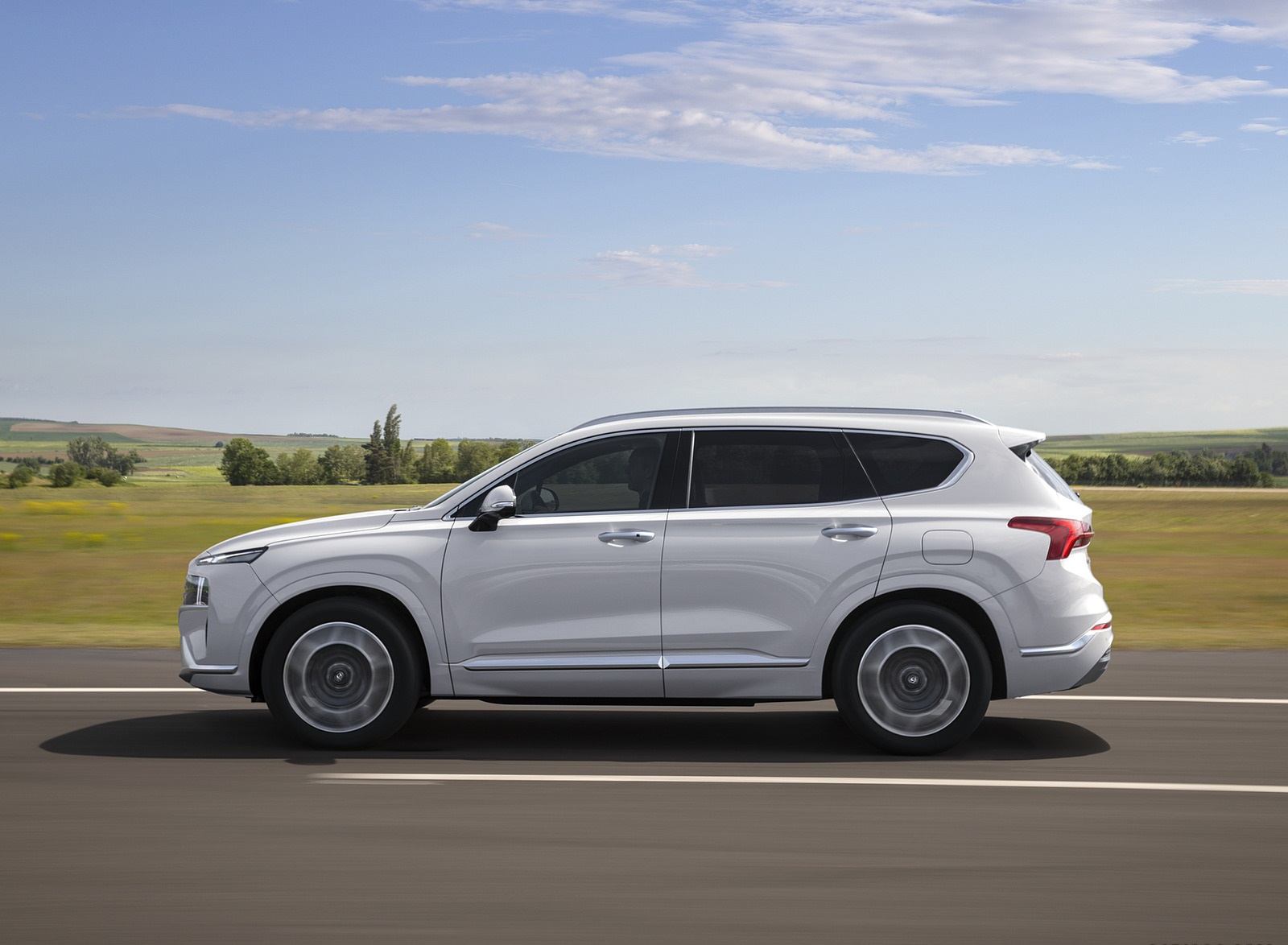 2021 Hyundai Santa Fe Side Wallpapers (6)