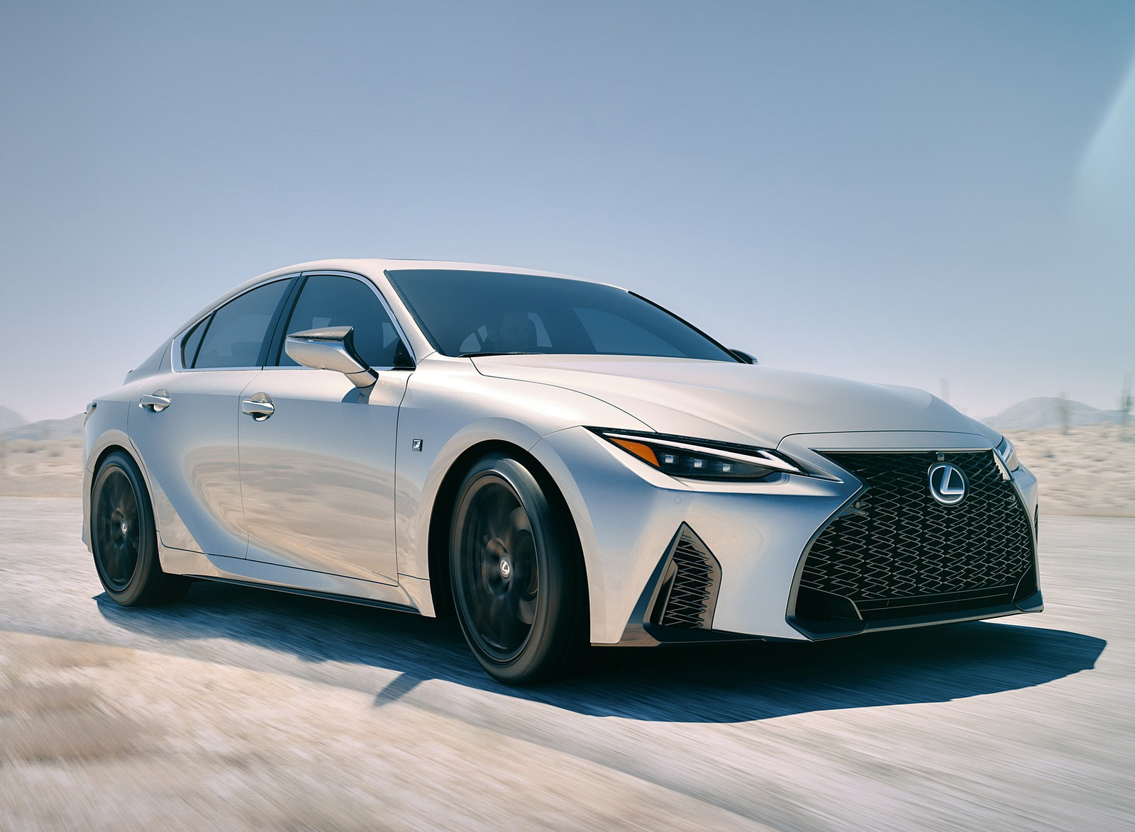 2021 Lexus IS Front Three-Quarter Wallpapers (1)