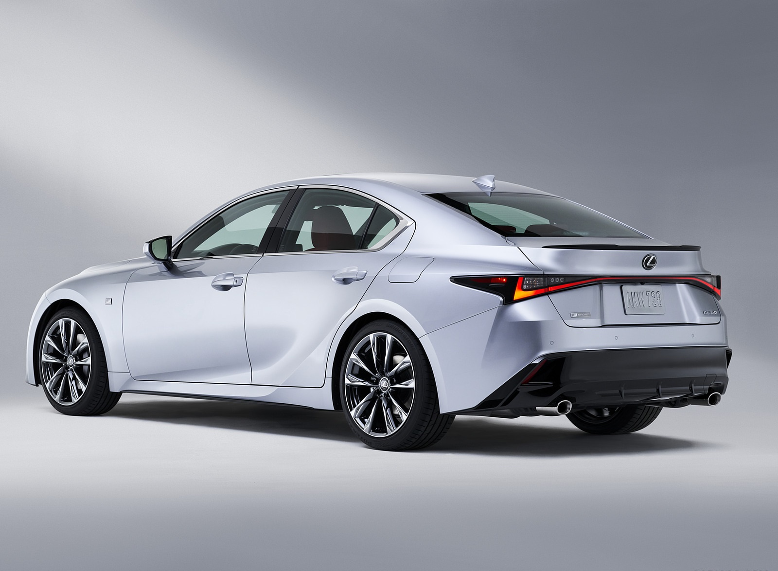 2021 Lexus IS Rear Three-Quarter Wallpapers (7)