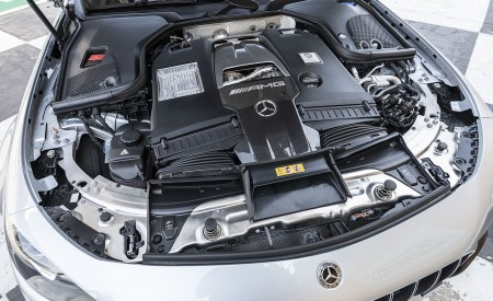 2021 Mercedes-AMG E 63 S 4MATIC+ (Color: High-Tech Silver Metallic) Engine Wallpapers 450x275 (47)