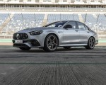 2021 Mercedes-AMG E 63 S 4MATIC+ (Color: High-Tech Silver Metallic) Front Three-Quarter Wallpapers 150x120 (12)