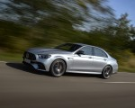 2021 Mercedes-AMG E 63 S 4MATIC+ (Color: High-Tech Silver Metallic) Front Three-Quarter Wallpapers 150x120 (4)