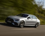 2021 Mercedes-AMG E 63 S 4MATIC+ (Color: High-Tech Silver Metallic) Front Three-Quarter Wallpapers 150x120 (6)
