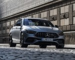 2021 Mercedes-AMG E 63 S 4MATIC+ (Color: High-Tech Silver Metallic) Front Three-Quarter Wallpapers 150x120 (30)