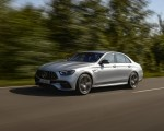 2021 Mercedes-AMG E 63 S 4MATIC+ (Color: High-Tech Silver Metallic) Front Three-Quarter Wallpapers 150x120 (8)