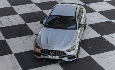 2021 Mercedes-AMG E 63 S 4MATIC+ (Color: High-Tech Silver Metallic) Front Wallpapers 450x275 (37)