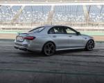 2021 Mercedes-AMG E 63 S 4MATIC+ (Color: High-Tech Silver Metallic) Rear Three-Quarter Wallpapers 150x120 (17)