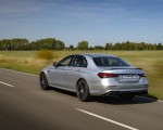 2021 Mercedes-AMG E 63 S 4MATIC+ (Color: High-Tech Silver Metallic) Rear Three-Quarter Wallpapers 150x120 (10)