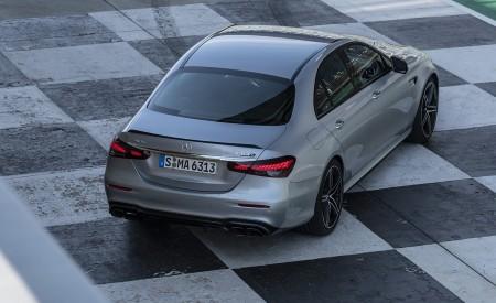 2021 Mercedes-AMG E 63 S 4MATIC+ (Color: High-Tech Silver Metallic) Rear Wallpapers 450x275 (38)