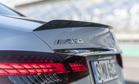 2021 Mercedes-AMG E 63 S 4MATIC+ (Color: High-Tech Silver Metallic) Tail Light Wallpapers 450x275 (46)