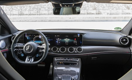 2021 Mercedes-AMG E 63 S 4MATIC+ Interior Cockpit Wallpapers 450x275 (59)