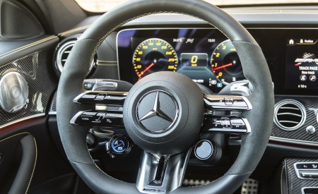 2021 Mercedes-AMG E 63 S 4MATIC+ Interior Steering Wheel Wallpapers 450x275 (50)