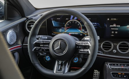 2021 Mercedes-AMG E 63 S 4MATIC+ Interior Steering Wheel Wallpapers 450x275 (55)