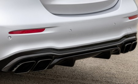 2021 Mercedes-AMG E 63 S (Color: Hightech Silver Metallic) Exhaust Wallpapers 450x275 (93)